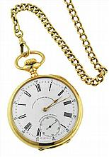 Patek Philippe, 18kt Yellow Gold Pocket Watch
