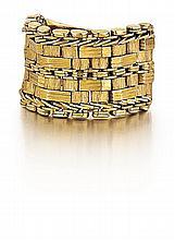 18kt Yellow Gold Mesh Ring