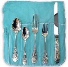 Tiffany & Co., Sterling Silver 5-Piece Place Settings, 8 Sets
