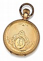 Elgin, 14kt Gold Hunter Case Pocket Watch
