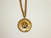 14kt Yellow Gold Bracelet and Pendant