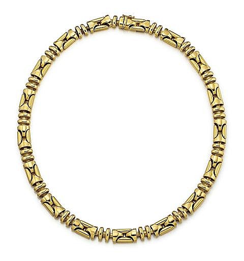 Italian 18kt Yellow Gold Lady's Necklace