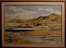 Jose Rodriguez Bronchu (Born 1912), Spanish. Oil on canvas.