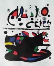 Joan Miro Cerets Poster