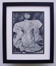 L. Schneider-Lengyel 16th c. Doll Framed Photogravure