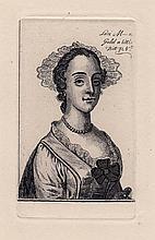 Wenceslaus Hollar Rare Engraving Courtesan Original