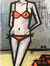 Bernard Buffet Original Lithograph Framed