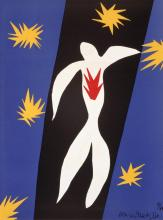 Henri Matisse Fall of Icarus Iconic Lithograph