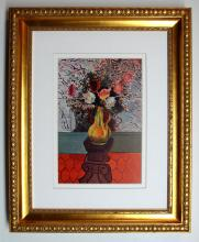 Henri Matisse Vase of Flowers Framed
