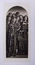 Jan Van Eyck The Singing Angels 1800's