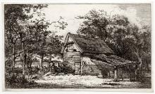 John Thomas Smith Cottage and Man