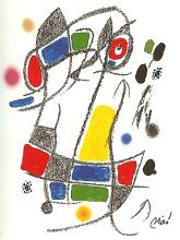 Miro Original Lithograph Framed Maravillas