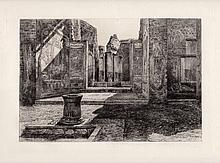 William Lockhart House Chase Etching 1800s