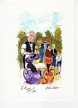 Urbain Huchet Signed/Numbered French