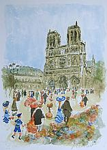 Urbain Huchet Signed/Numbered Litho French