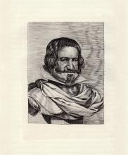 Velasquez Duke of Oliveres engraving