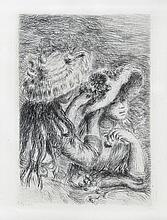 Pierre Renoir Chapeau Epingle Etching