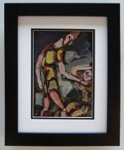 Georges Rouault Antique Clown print