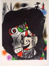 Joan Miro Lithograph Revolutions