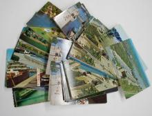 (125) Canadian Canal Related Post Cards