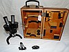 Vintage Carl Zeiss Microscope in Box w/Extras