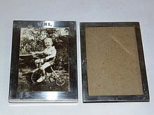 Pair Sterling Picture Frames,Cartier & 925/1000 Frame