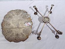 Pair of 19th C. English S/P Trivet's