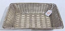 Fine Early Christofle Gallia S/Plate Wire Basket