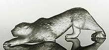 Lalique Zeila Panther Figure