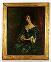Manner of Lely, Portrait of Lady, O/B