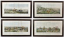 4 19th C. English Sporting Prints