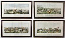 4 19th C. English Sporting Prints