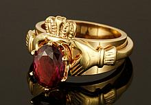 14K Gold 2.2CT Ruby Ring