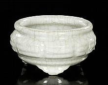 Chinese Guan Glazed Porcelain Censer