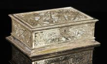 Tiffany Studios Silver Plate Jewelry box