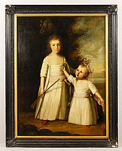 18th C. French Portrait, O/C