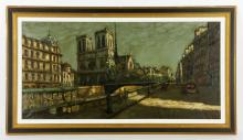 Montani, Notre Dame, Oil on Canvas