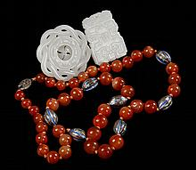 Lot of 3 Chinese Hardstone Items
