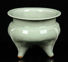 Chinese Longquan Censer, Porcelain