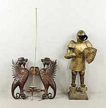 Lot of 2 Decorative Items