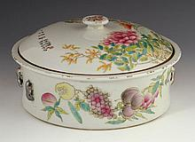 Chinese Famille Rose Soup Bowl