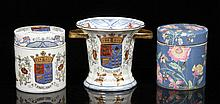 Lot of 3 Chinese Export Porcelain Pieces