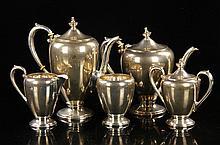 Bradford Sterling Tea Set