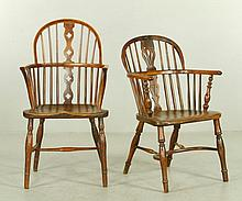 Lot of 2 18th/19th C. English Chairs