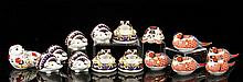 15 Royal Crown Derby Paperweights