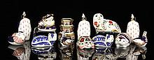 15 Royal Crown Derby Pieces