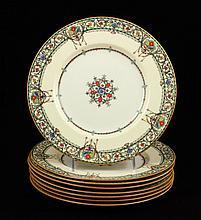 Lot of 8 Royal Worcester Dinner Plates