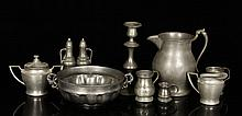 10 Pewter Items