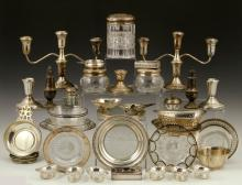 Lot of Sterling Silver and Silver Overlay