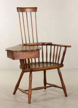 Windsor Style Writing Chair